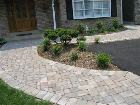 walkway design ideas for paver walkways paver house blog