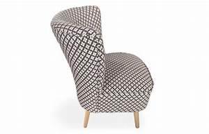 Petit Fauteuil Confortable : petit fauteuil style scandinave en tissu avec pieds bois ~ Teatrodelosmanantiales.com Idées de Décoration