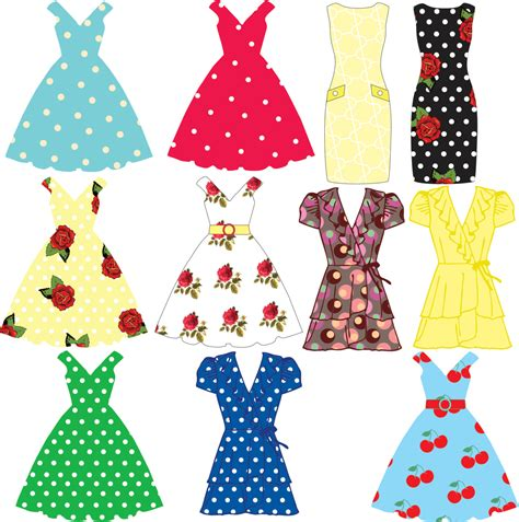 Dress Clip Clipart Clothing Pencil And In Color