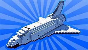 How To Build a SPACE SHUTTLE in Minecraft (CREATIVE ...