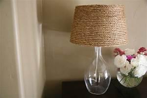 Diy Abat Jour : une lampe abat jour de corde diy ~ Preciouscoupons.com Idées de Décoration
