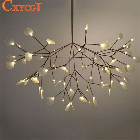 Tree Light Fixture by White Tree Branches Chandeliers Modern Suspension Hanging