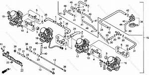 Honda Motorcycle 1996 Oem Parts Diagram For Carburetor Assy