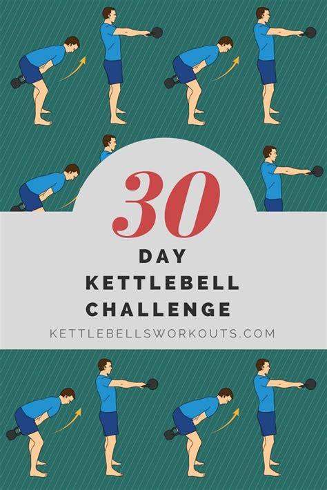 kettlebell challenge exercises per kettle workout kettlebellsworkouts training minutes fitness looking bells circuit swings kettlebells
