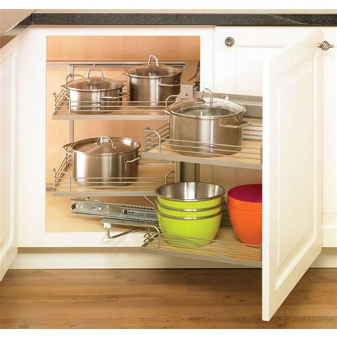 blind corner base cabinet pull out hafele magic corner i for use in kitchen blind corner