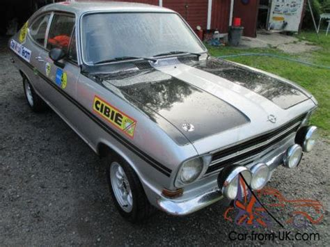 Opel Kadett Rallye For Sale by 1972 Opel Kadett Rallye 1900 Sprint Fia Historic 1