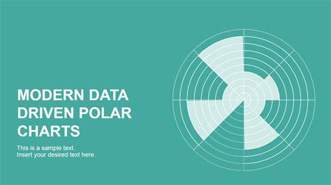 data driven polar charts  powerpoint slidemodel