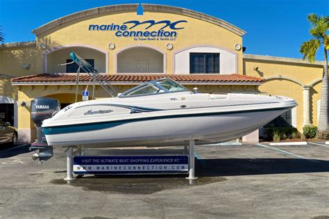 Hurricane Sundeck Used Boats by Used 2001 Hurricane Sundeck Sd 217 Ob Boat For Sale In