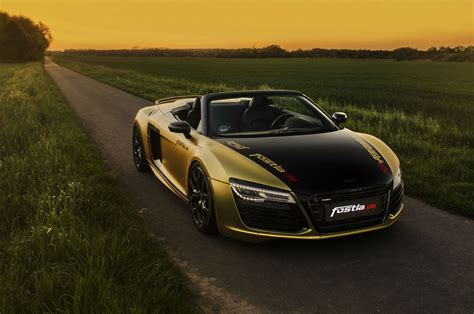 audi r8 gold fostla goes for gold with the audi r8 spyder
