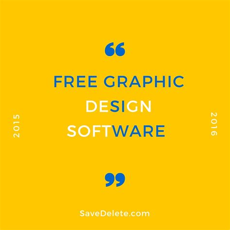 best free graphic design software graphic design software free