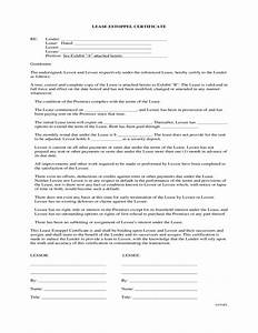 lease estoppel certificate free download With estoppel certificate template