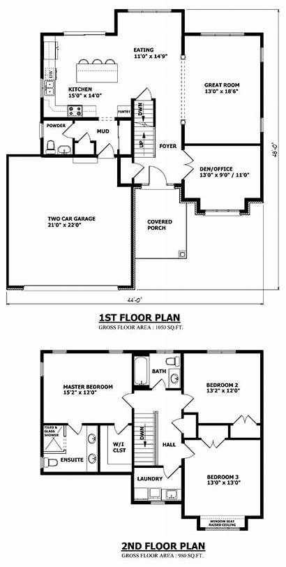 Storey Plans Plan Floor Line Brampton Building