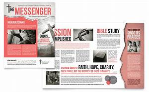 Product Pamphlets Bible Church Newsletter Template Word Publisher