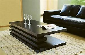 Table modern living room by moshir furniture for Contemporary living room tables