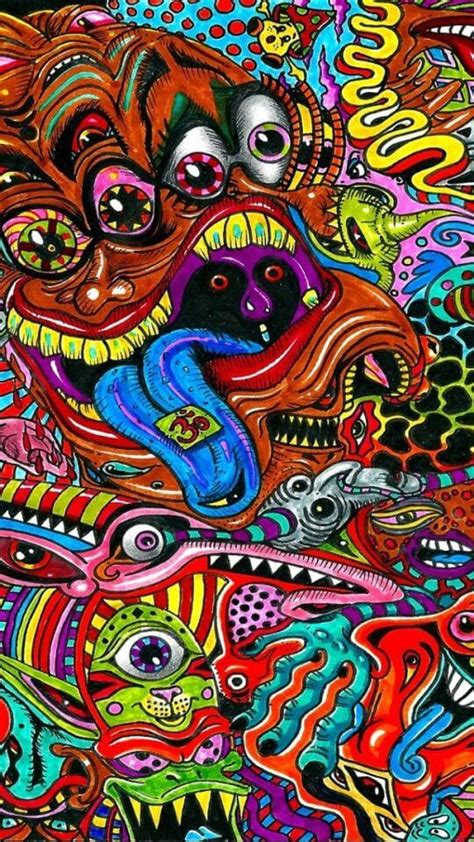 Best Psychedelic Trippy Wallpapers For Iphone, Android