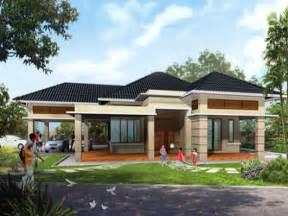 Modern House Plans Single Story Home