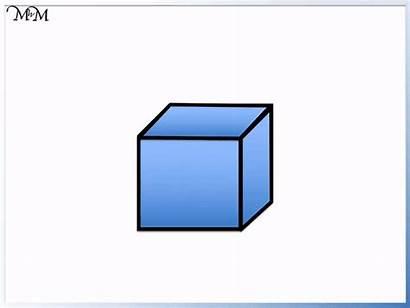 Shapes 3d Cube Names Shape Square Maths