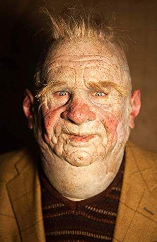 """Amazon.com: Realistic Hand Made Silicone Mask Old Man"""" Fat"""
