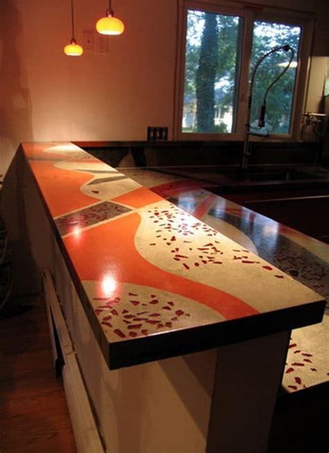 concrete countertop ideas  examples part