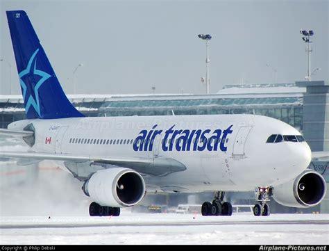 vol toronto air transat c gvat air transat airbus a310 at toronto pearson intl on photo id 117690 airplane