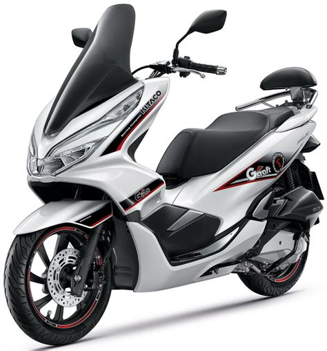 Pilihan Warna All New Honda Pcx150 2018: Indonesia