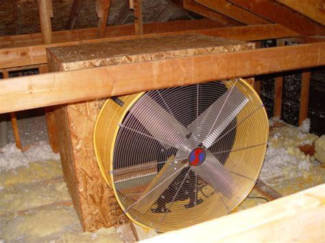 house fan blows   ac bill