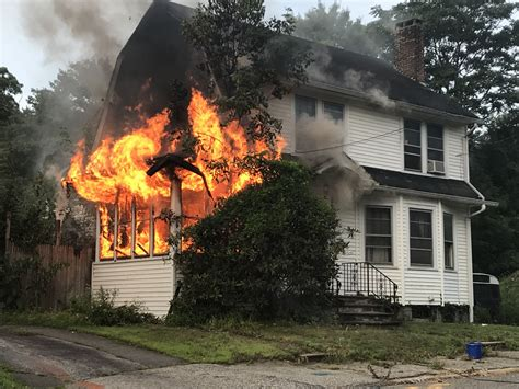 Two adults, dog escape Ansonia house fire