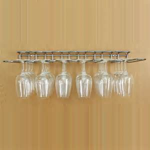 cabinet stemware rack uk buy the stainless steel wine glass hanging rack dual fix