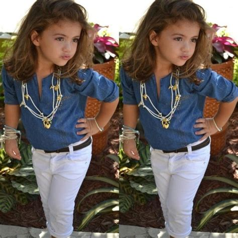 Modish Little Girlu2019s Fashion Outfits | Weddings Eve