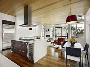 Küche Und Wohnzimmer In Einem Kleinen Raum : einrichtungsideen kleine r ume 2 zimmer in 1 ~ Markanthonyermac.com Haus und Dekorationen