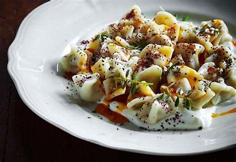 manti turkish dumplings shane delia entrees