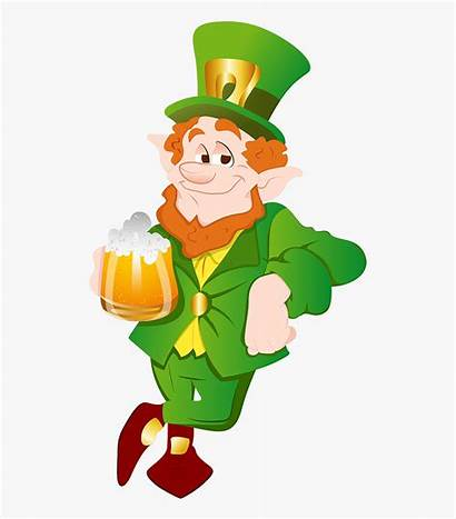 Leprechaun Clipart Dancing Beer Transparent Clipartkey