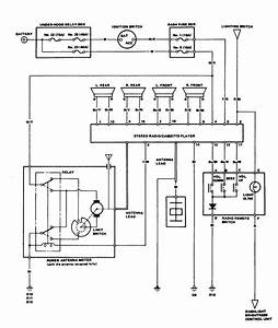 Acura Legend  1986 - 1987  - Wiring Diagram