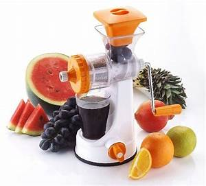 Buy Kitchen Fruit Vegetable Manual Juicer With Vacuum Base