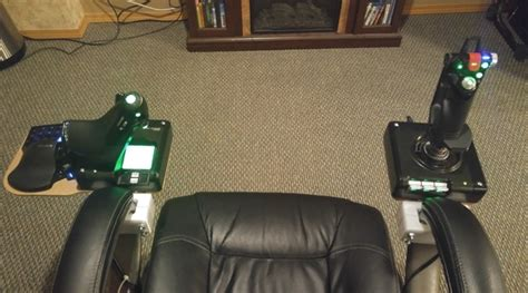 diy hotas chair mount take vr to the next level with these 3d printable