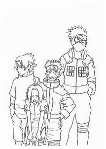 Ausmalbilder Naruto Kostenlos Malvorlagen Zum Ausdrucken
