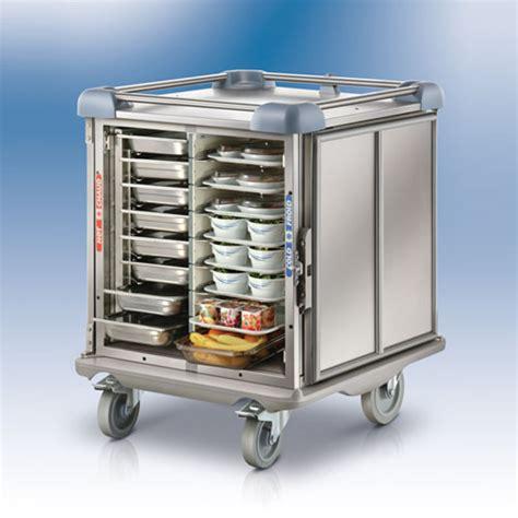chambre commerciale chariot minimix pour distribution de repas sur plateaux
