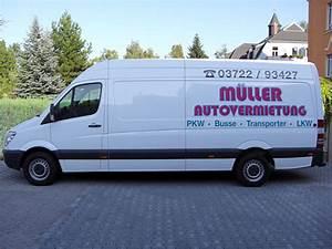Sprinter Lang Mieten : m ller autovermietung transportervermietung pkw kleinbus transporter lkw mit ~ Markanthonyermac.com Haus und Dekorationen