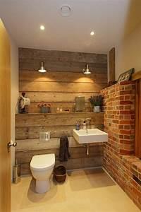 Appliques Murales Salle De Bain : salle de bain rustique 100 id es d co salle de bain ~ Melissatoandfro.com Idées de Décoration