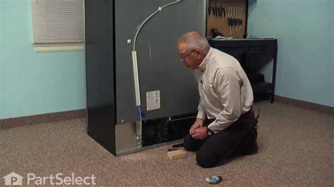 refrigerator repair replacing  water inlet valve whirlpool part  youtube