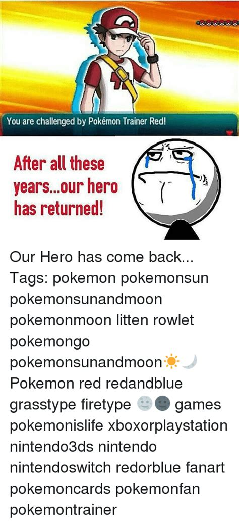 Pokemon Trainer Red Meme - 25 best memes about pokemon trainer red pokemon trainer red memes