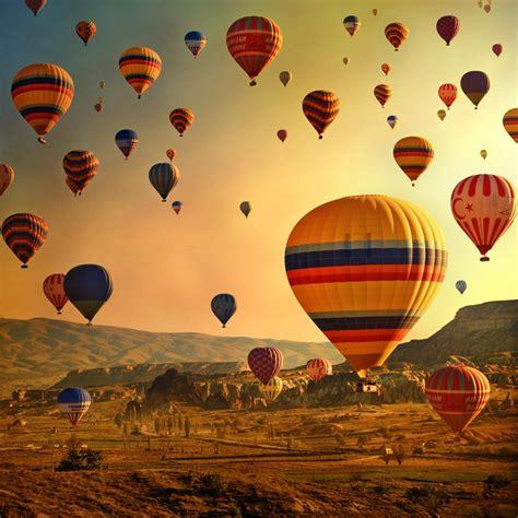 Hot Air Balloon In Cappadocia Turkey♥ Rizkacil