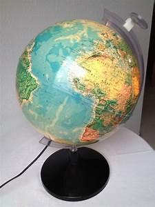 Globus Als Lampe : globus weltkugel beleuchtet mit lupe in karlsruhe schul und lehrbedarf kaufen und ~ Markanthonyermac.com Haus und Dekorationen