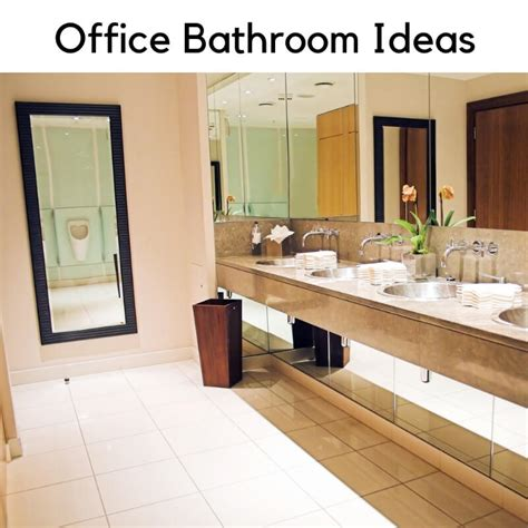 Ideas For Office Bathroom office bathroom ideas greencleandesigns commercial
