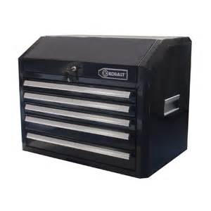 shop kobalt 21 in x 27 in 5 drawer ball bearing steel tool