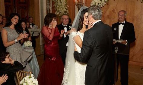 scenes  amal  george clooneys wedding