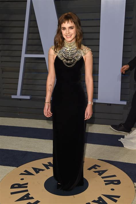 Emma Watson Time Tattoo Oscars Afterparty