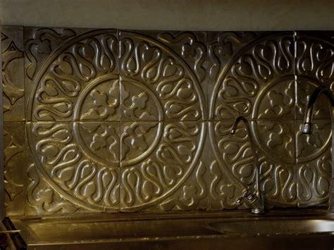 d馗oration murale pour cuisine décoration murale dosseret crédence en métal création restauration de