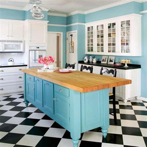 carrelage damier cuisine die moderne kochinsel in der küche 20 verblüffende ideen