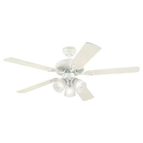 Home Depot Ceiling Fans White westinghouse vintage 52 in white ceiling fan 7862765